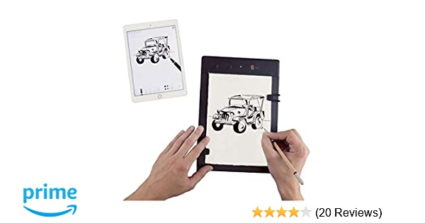 amazon com iskn the slate 2 pencil paper graphic tablet