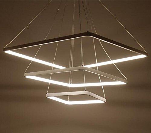 Led Soggiorno lampadario creativa post,moderni semplici Ufficio Light Art  Alluminio Luci ristorante rotondo circolare