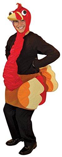 Rasta Imposta Light Weight Turkey Adult, Brown, One Size