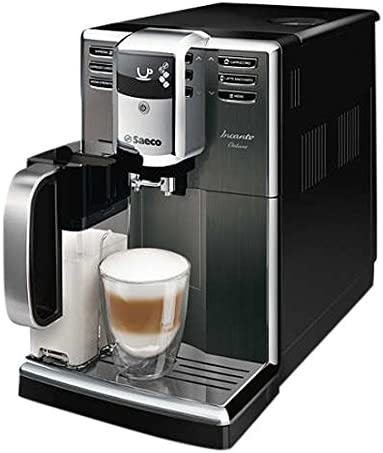 Saeco Incanto HD8922/01 - Cafetera (Independiente, Máquina espresso, 1,8 L, Molinillo integrado, 1850 W, Negro, Acero inoxidable): Amazon.es: Hogar
