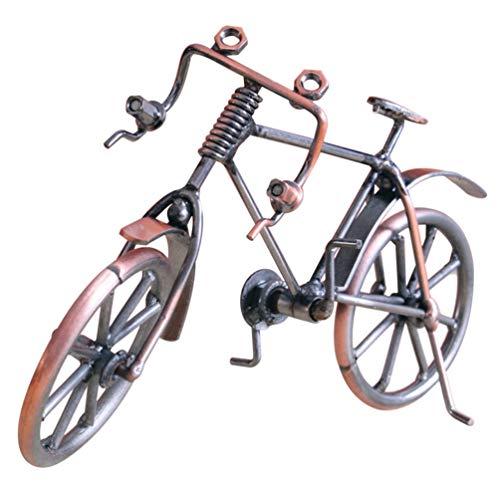 [해외]Businesscastle Bike Model Metal Craft Home Desktop Decoration Bicycle Children Toy Giftscopper Color / Businesscastle Bike Model Metal Craft Home Desktop Decoration Bicycle Children Toy Giftscopper Color
