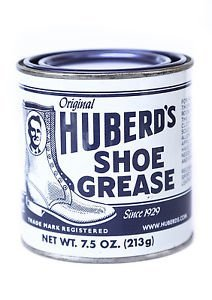 Huberd's Shoe Grease leather conditioner protector