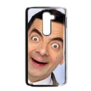 Printed Cover Protector LG G2 Cell Phone Case Black Mr Bean Ssldy Printed Cover Protector