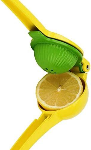 Manual Exprimidor Limón Exprimidor Lima Exprimidor De Aleación De Aluminio Prensa De Mano Citrus Limón Jugo Presser Exprimidor Herramienta De Fruta Cocina Bar Accesorios