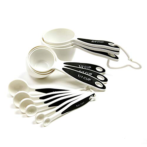 Norpro 3042 Grip-EZ Measuring Cups & Spoons, Set of 12