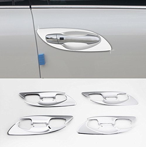 Sell by Automotiveapple, C080 AUTOCLOVER Chrome Door Handle Catch Bowl Molding Cover 8-pc Set For Kia 2016 Sorento : ALL NEW SORENTO