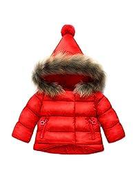 Gaorui Baby Coat Boys Girls Winter Outerwear Warm Parka Down Jacket Hooded Snowsuit