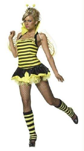 Queen Bumble Bee Adult Costume - (Leg Avenue Bumble Bee Costume)