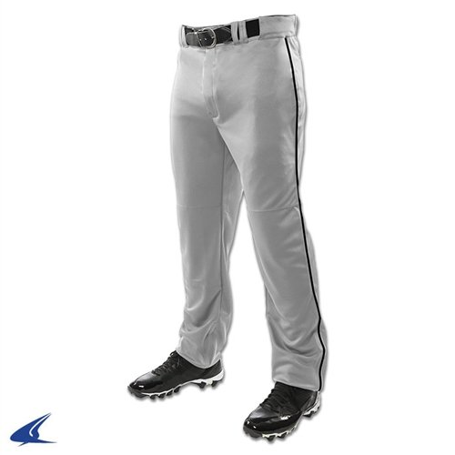 CHAMPRO Mens Sports Adult Triple Crown Open Bottom Piped Pants