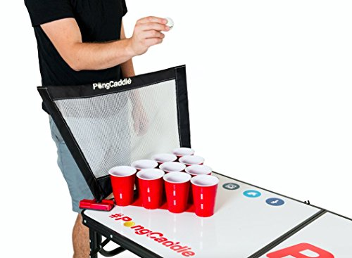 BEER PONG NETS! Fit any Beer Pong Table. Catch Missed Shots, Stop Washing Balls and Increase Game Speed. (Pong Net Pong)