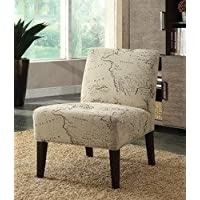 HomeRoots Furniture 285787-OT Chairs, Multicolor