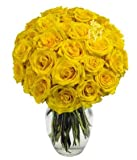 Flowers - Two Dozen Yellow Roses