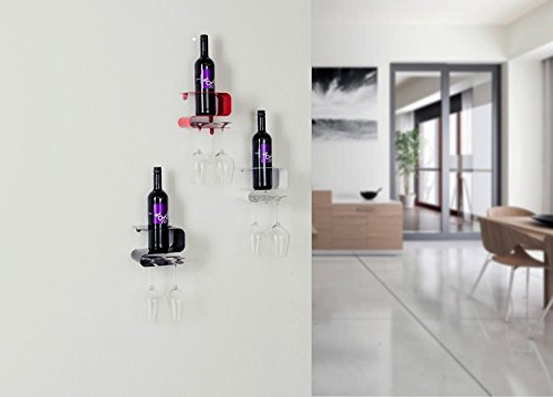 Weinregal Weinflaschenhalter Hängeregal für Wein Weinflaschenständer NEU OVP
