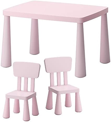 Sedie E Tavoli Da Esterno Ikea.Ikea Sedie E Tavolo Per Bambini Mammut Per Interni E Esterni