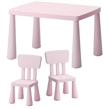 Ikea Mammut Ensemble Chaises Et Table Dintrieur Dextrieur Pour Enfant En