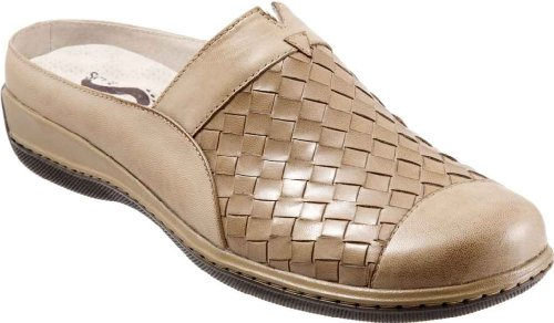 SoftWalk Women's San Marcos Woven,Cement Burnished Veg Kid Leather,US 11.5 W