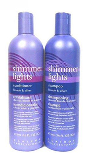 Price comparison product image ATTM Clairol combo Shimmer Lights Shampoo 16 oz + Conditioner 16 oz
