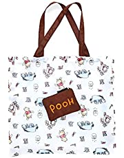 Loungefly x Disney Winnie the Pooh All Cast Coin Purse with Reusable Tote