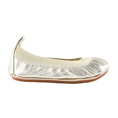 New Yosi Samra Samara Metallic Gold 12 Kids Shoes