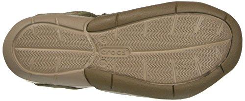 Mesh Women's Walnut Crocs Sandal Swiftwater ESZwwqaxd