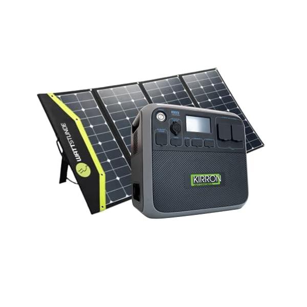 413cF4nSW6S Kirron AC200P Powerstation 2000 Wh/2000 W + Solartasche Sunfolder 220W I neue Software 1.1/Bluetti Poweroak I 230 V…