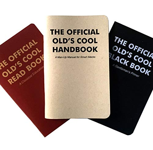 The Official Olds Cool Wicked/Smart Education - Three Classic How-to Handbooks - The Perfect Gift for Literate Gentlemen and Ladies - Tons of Wit, Wisdom, Fun and Games.