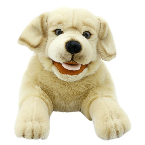 The Puppet Company Playful Puppies Labrador - Yellow Hand Puppet ()