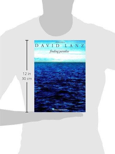 David Lanz Finding Paradise Piano Solo Book 2002 America Romantica Dorado Luna