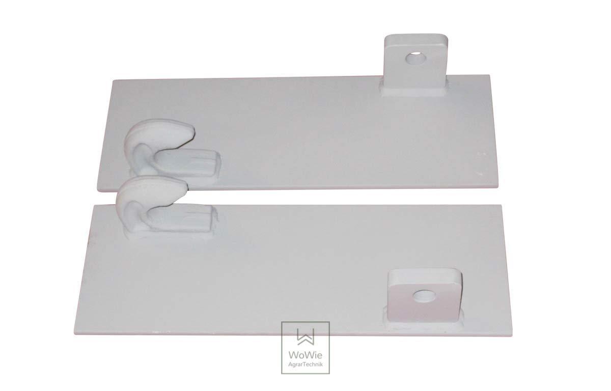 Koppelhaken Koppelplatten Umbausatz  Euroaufnahme Frontlader Frontladergeräte