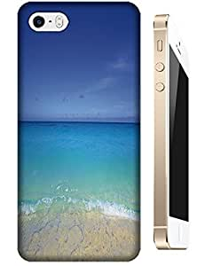 Beautiful Beach Sunshine Sea Water Clean White Cloud Design For iPhone 4/4S No.5 by runtopwell