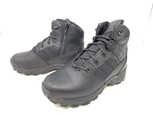 Corcoran Mens 6' Black Tactical Boots with Side Zipper