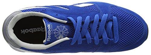 Reebok GL 3000 Zapatillas de running, Mujer Azul / Blanco / Gris / Negro (Blue Sport/Steel/White/Black)
