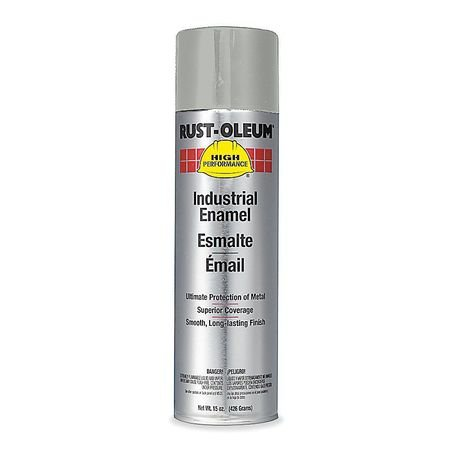 Spray Paint, Light Machine Gray, 15 oz.