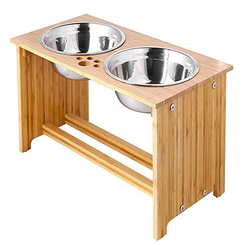FOREYY Raised Pet Bowls