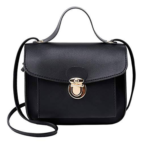 Trule Fashion Lady Shoulders Small Backpack Letter Purse Mobile Phone Messenger Below 21 Litre Soft Handle Bag ()
