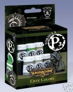 Privateer Press Formula P3 Cryx Colors Model Kit (Privateer Press Paint Set compare prices)