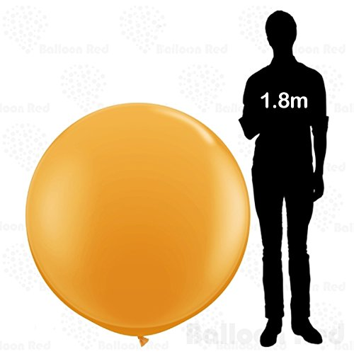 Homemade Costumes Best Halloween Children's (4 ft / 48 Inch Giant Jumbo Round Latex Balloon (Premium Quality), Pack of 1,)
