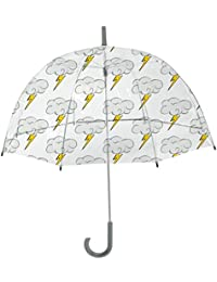 Kids Sky Collection Bolt Umbrella, Clear,