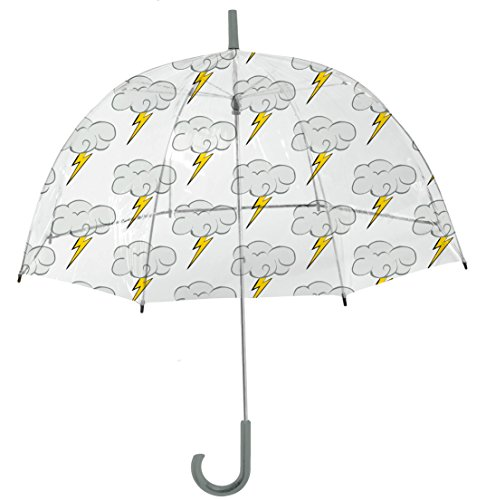Rainbrella Kids Sky Collection Bolt Umbrella, Clear, ()