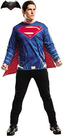 Disfraz de Superman de Batman vs Superman para Hombre: Amazon.es ...