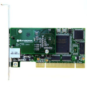 (Sangoma A102 Dual T1/E1 Interface Card - Asterisk Interoperable)