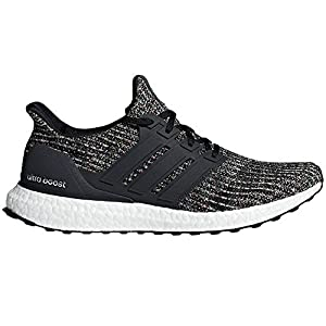 adidas Men's Ultraboost Running Shoe, Black/Carbon/ash Silver, 11.5 M US