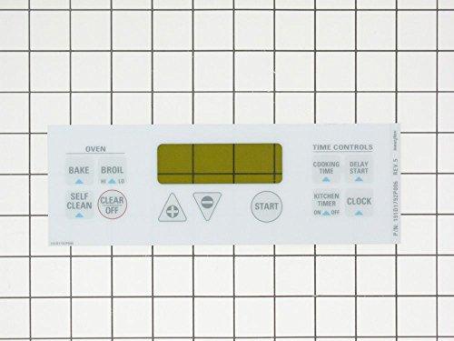 GE WB27K5338 Series CLOCK PLT-WH,, ()