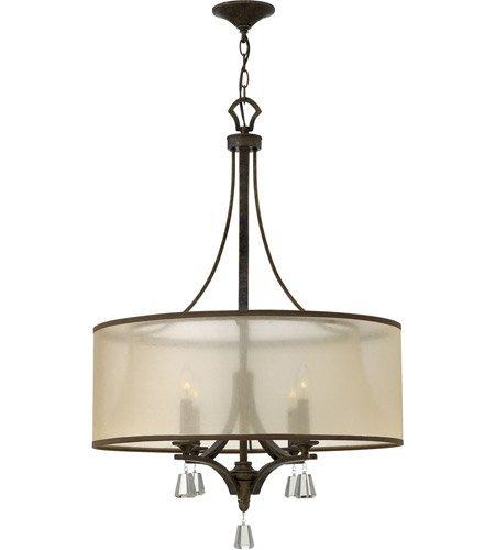 Amazon.com: 4 lámparas de araña con acabado en bronce ...