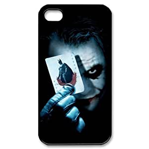 Joker And Batman Pattern Plastic Protective Hard Case for iPhone 4 4S by supermalls