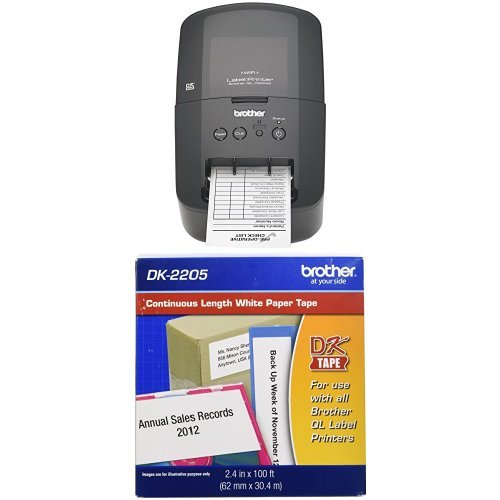 Brother QL 720NW and Tape Bundle