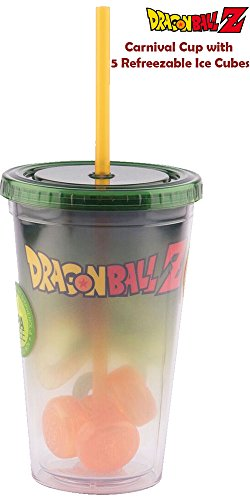 JUST FUNKY Dbz-CC-7878-Jfc Dragon Ball Z Molded Ice Cube Carnival Cup