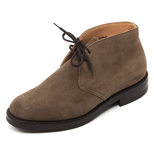 B7345 Without Man Scuro Boot Polacchino Scuro Beige CHURCH'S Beige Uomo Box Shoe UtWd4Uqw