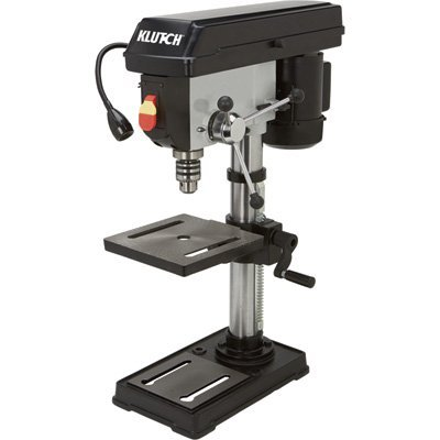 Klutch 10in. Bench Mount Drill Press – 1/2 HP, 5-Speed