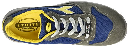 Diadora Unisex Adults' Run Textile Low S1p Work Shoes Grey (Grigio Castello/blu Insegna) release dates authentic 9UiaSkiW